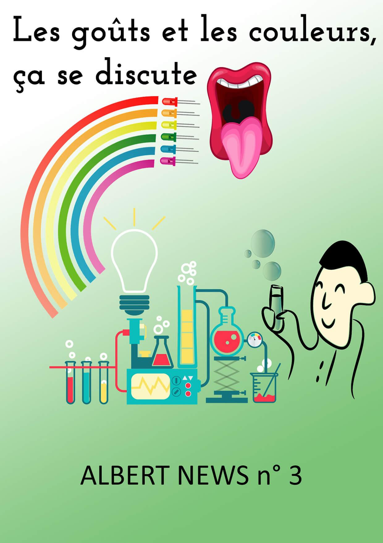 webzine expériences sur le goût et les couleurs