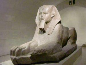 Le Sphinx du Musée du Louvre