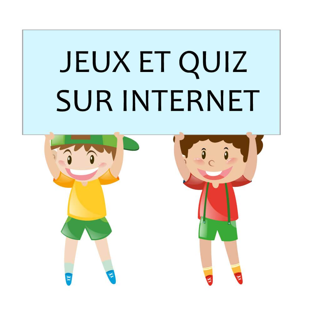 jeux et quiz sur internet