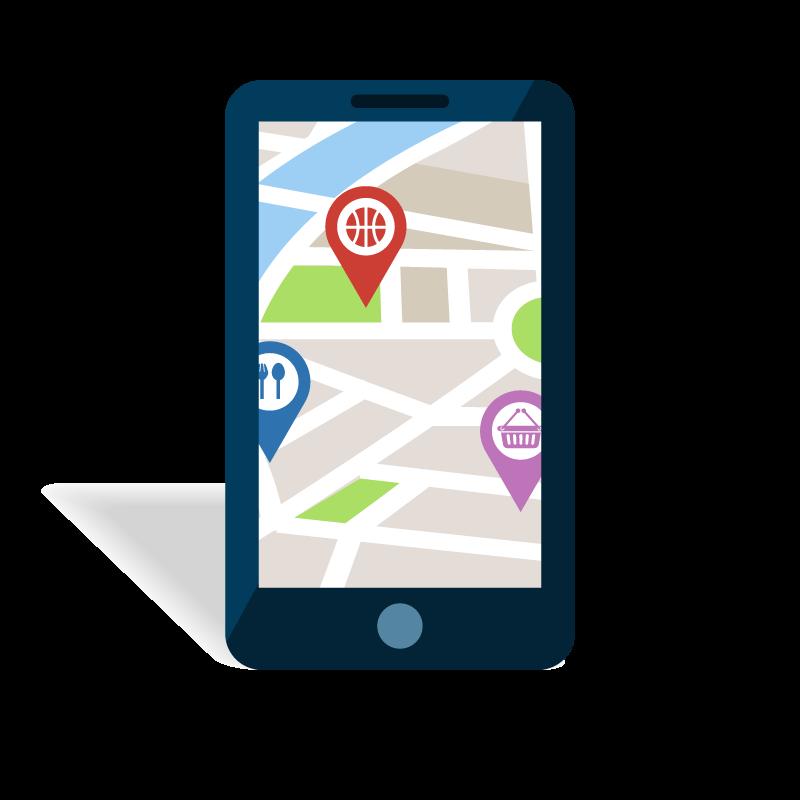 google map sur mobile