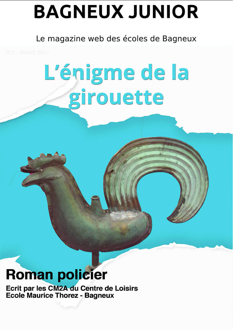 roman policier Enigme de la girouette