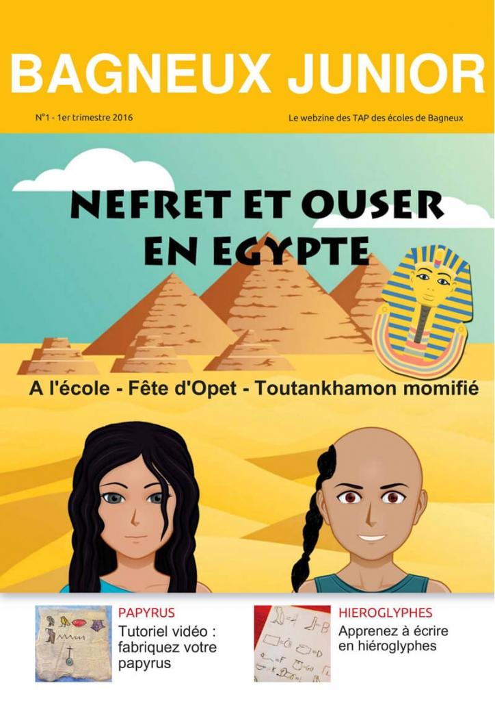 webzine CM2 Egypte antique