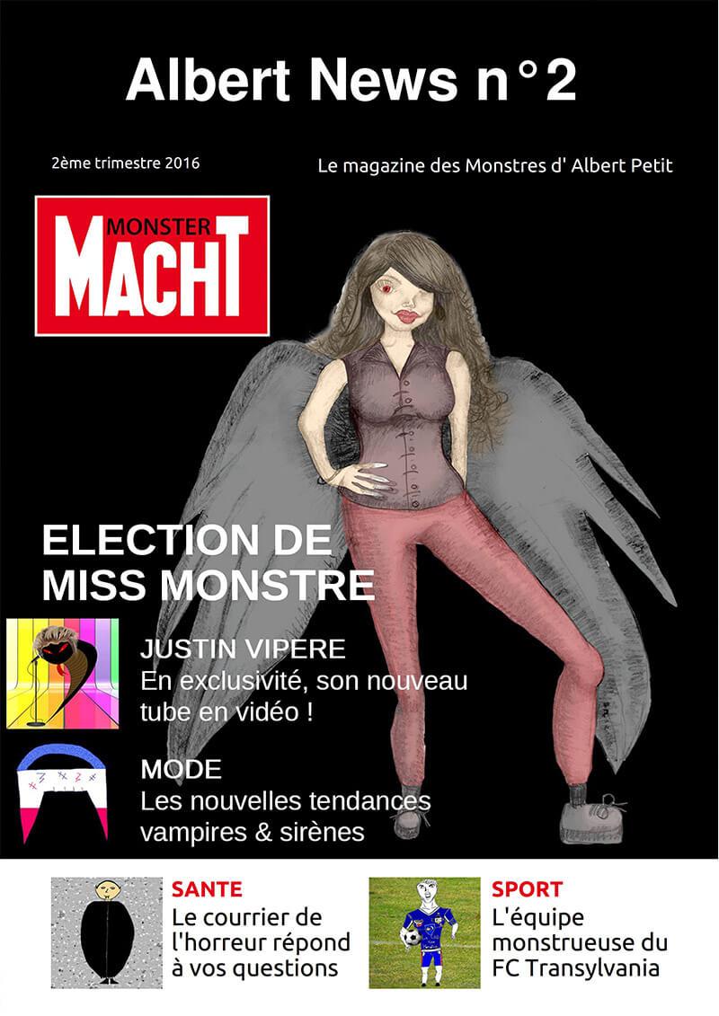 journal web parodique sur les monstres