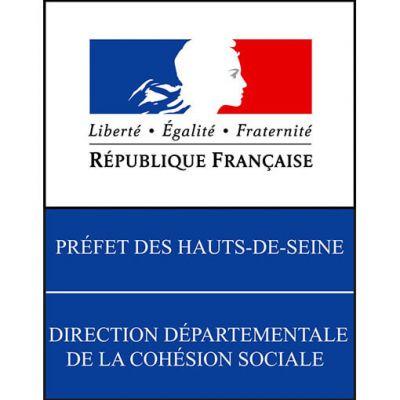 logo DDCS92 préfecture des Hauts-de-Seine
