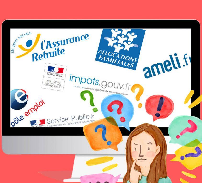 Aide aux démarches administratives en ligne